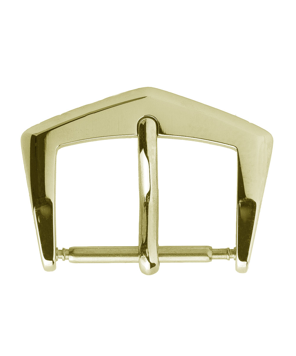 Stainless Steel High Grade Buckle 16mm. Yellow Metal Color
