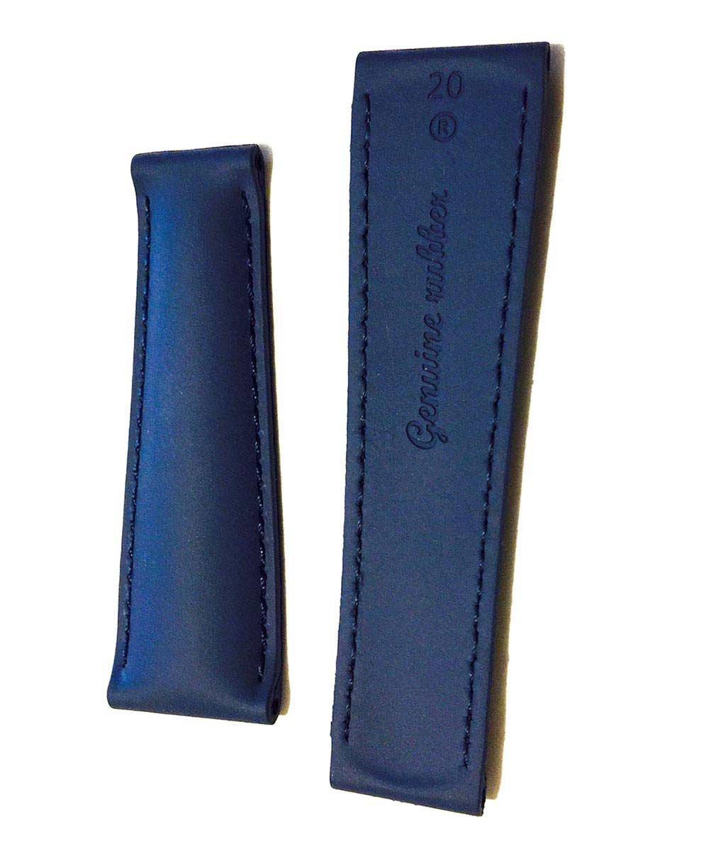 INDIGO BLUE rubber strap for DAYTONA / ROLEX