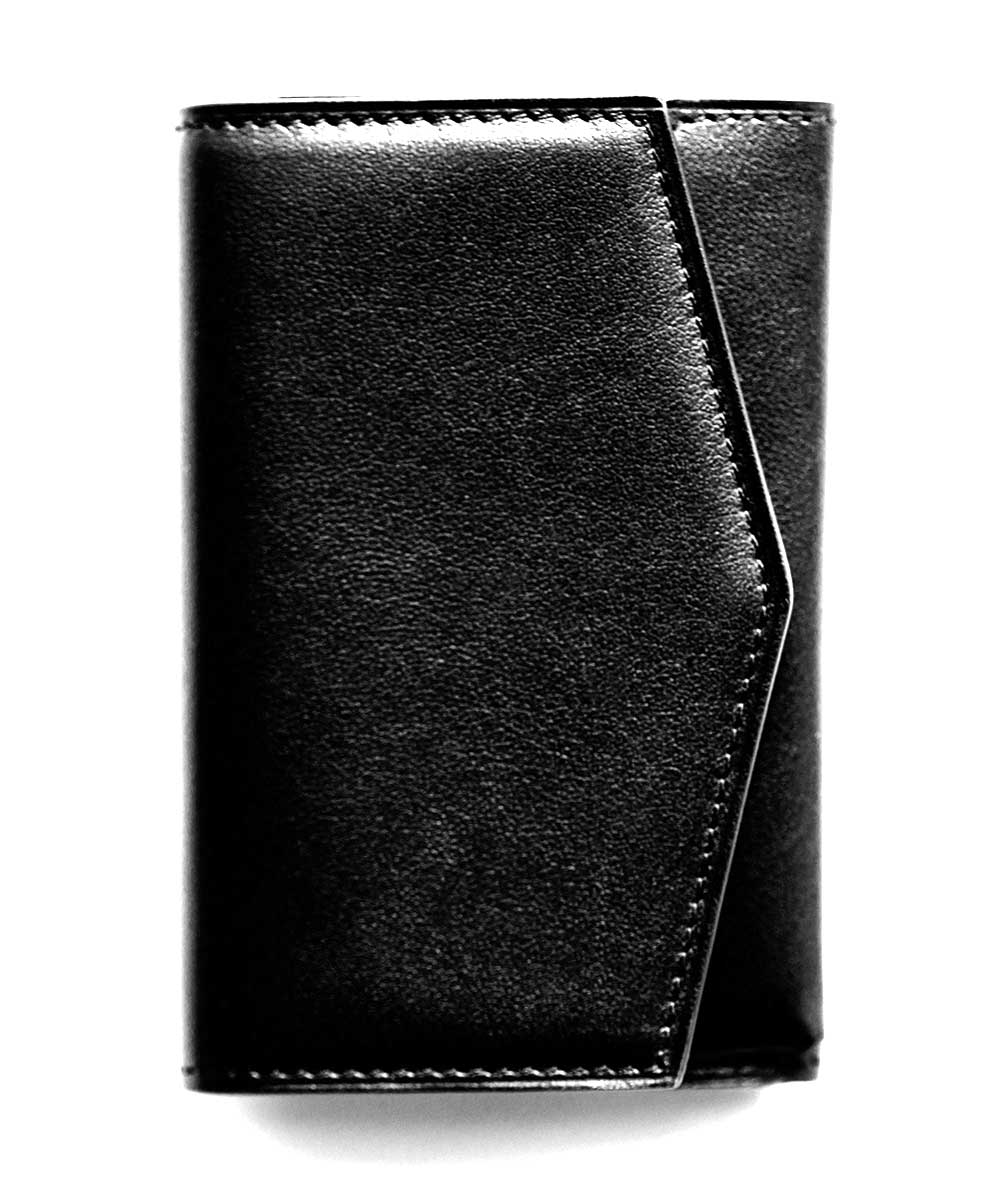 SMART wallet in Superior Italian Calf leather. Black, Brown