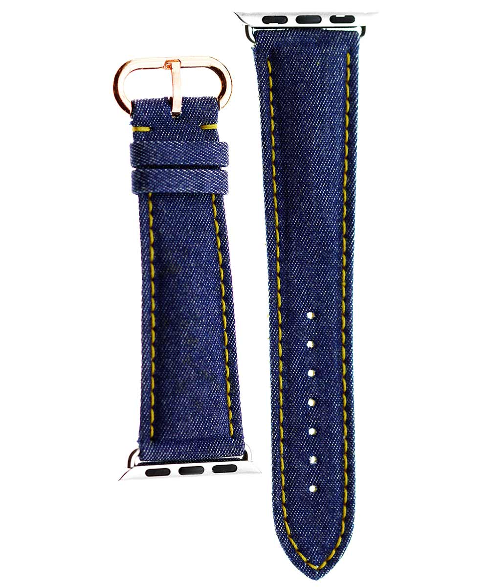 Japanese Denim Strap (Apple Watch All Series) / BLUE