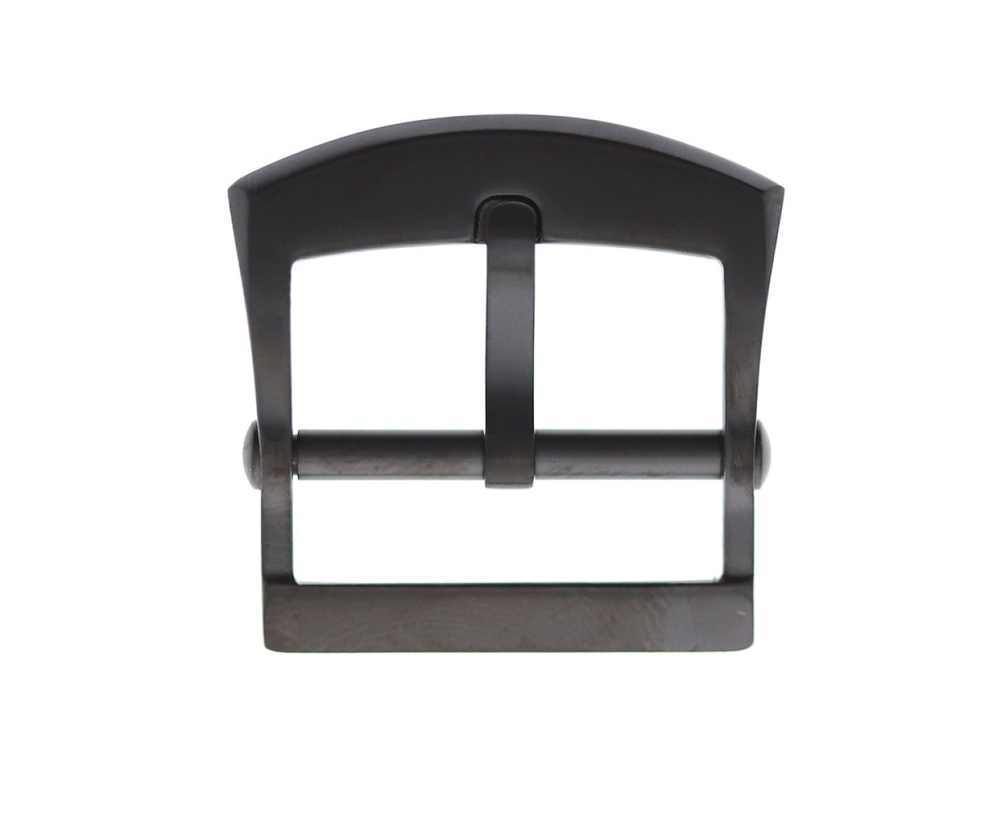 Stainless Steel High Grade Buckle 20mm. Black Matte