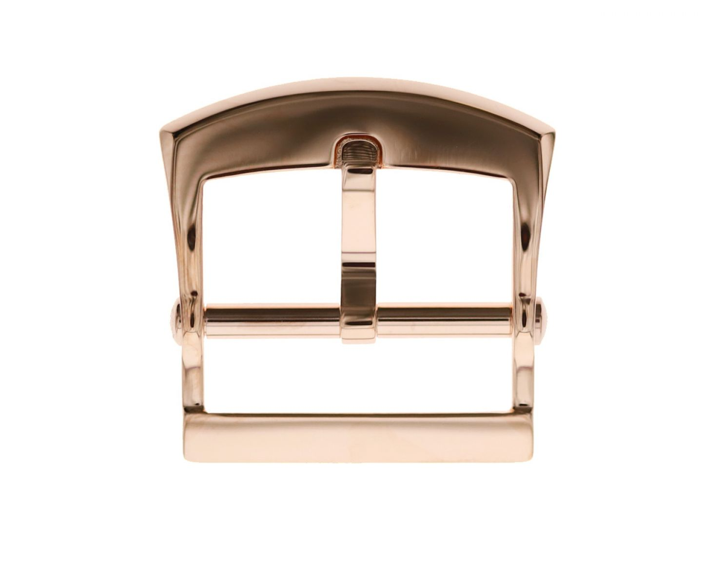 Stainless Steel High Grade Buckle 20mm. Rose Gloss