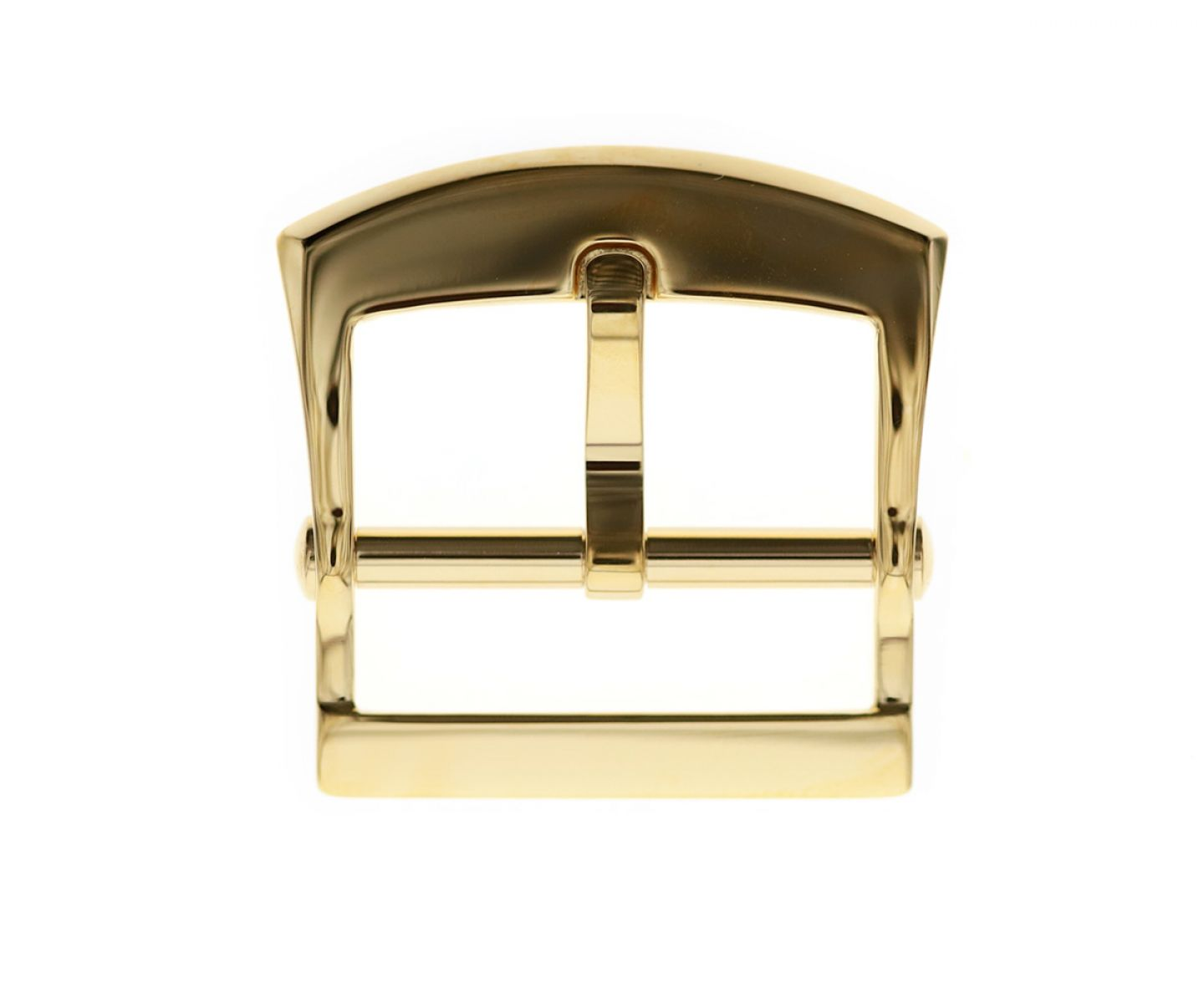 Stainless Steel High Grade Buckle 20mm. Yellow Gloss