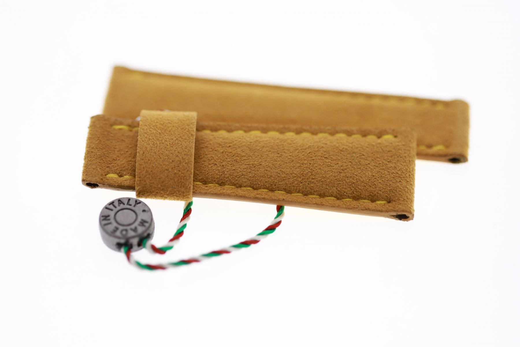 N2 Yellow Gold Alcantara® strap 20mm Rolex Daytona style