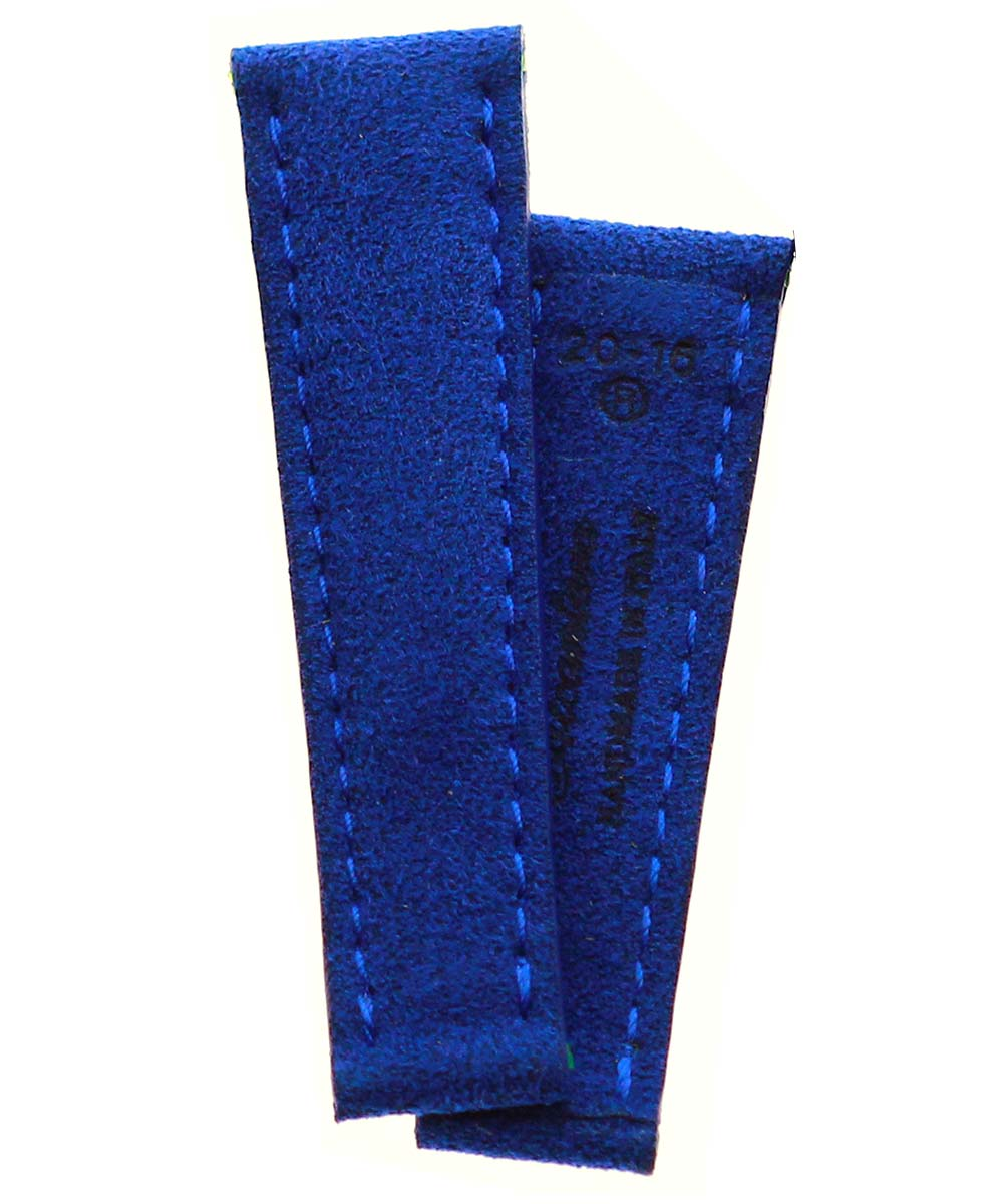 Infanta Blue Alcantara® strap 20mm for Rolex Daytona. Vegan style