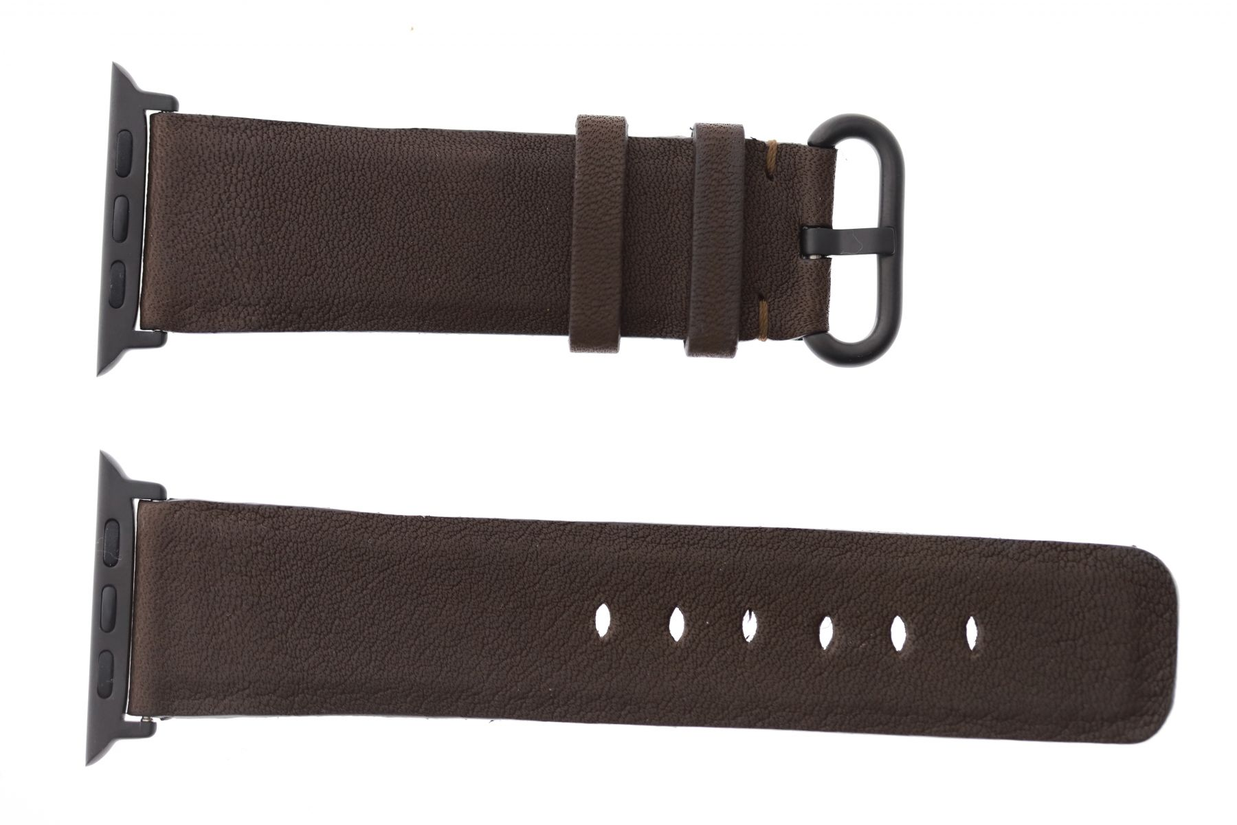 Brown Hydro Repellent leather Apple Watch Strap 44mm, 42mm (All generations)