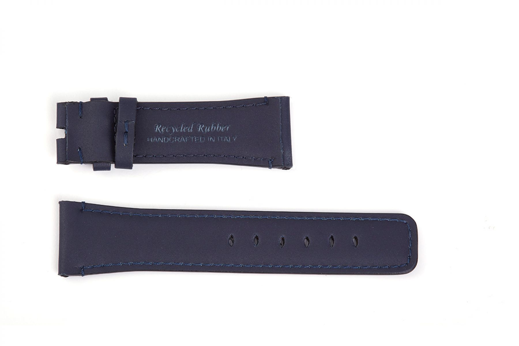 Navy Blue Recycled Rubber Strap (Apple Watch All Series)
