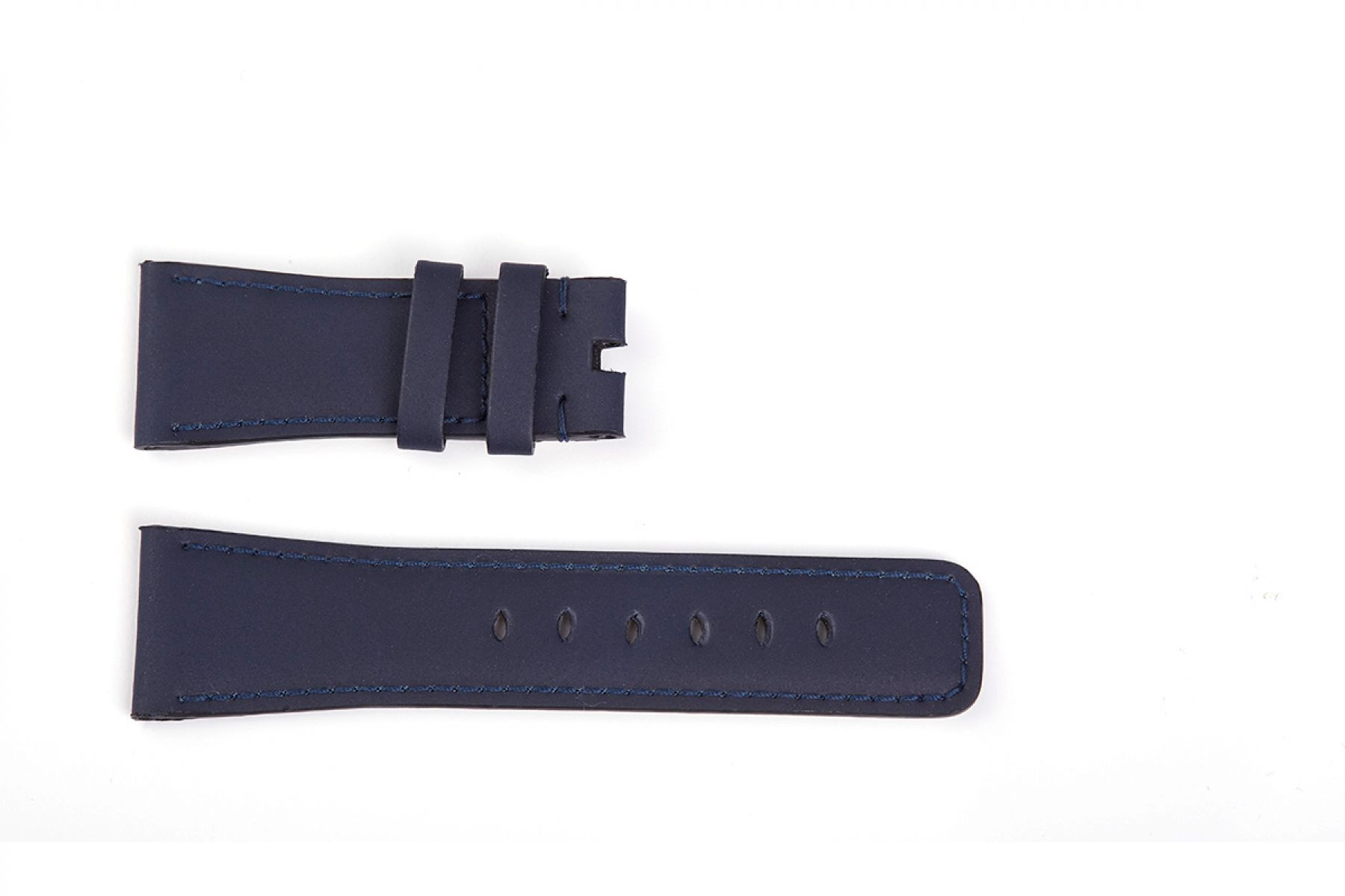 Recycled Rubber Strap (Apple Watch All Series) in Navy Blue