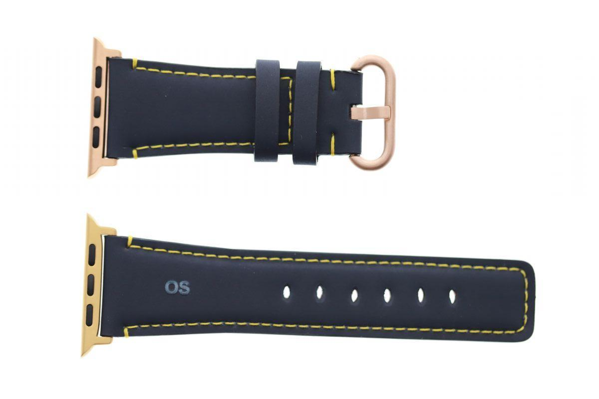 Navy blue Recycled Rubber Apple Watch Strap 44MM, 42MM (All generations)
