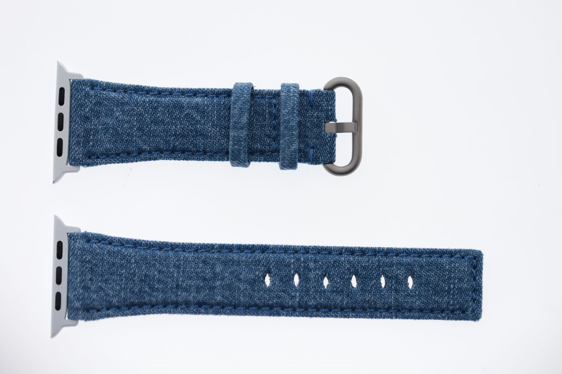 Japanese Denim Strap for 44mm, 42mm case (Apple Watch All Series) / CALIFORNIA LIGHT BLUE