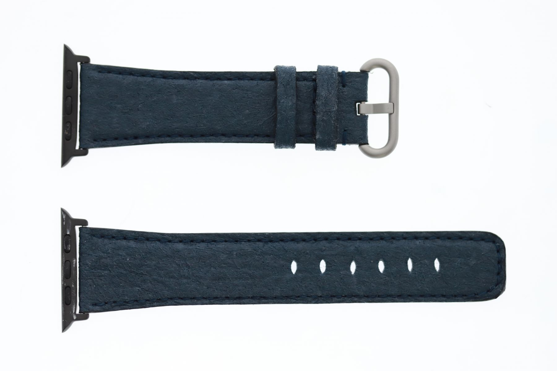 Pinatex Strap (Apple Watch All Series) / MARINA BLUE