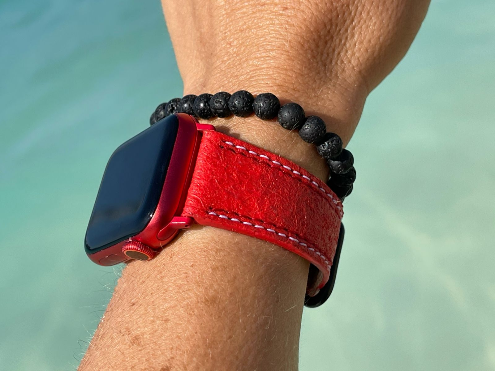 Pinatex Strap (Apple Watch All Series) / RED PAPRIKA