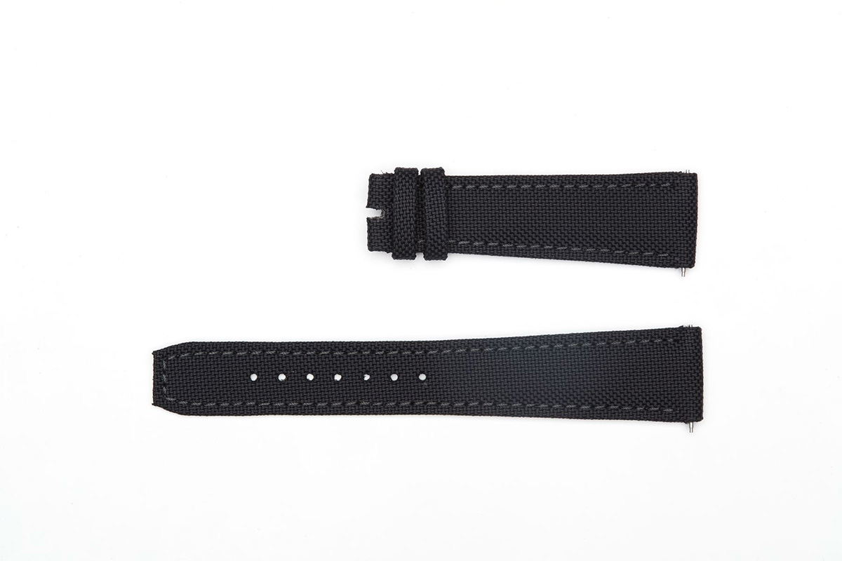 Black Cordura strap 20mm A.Lange and Sohne style