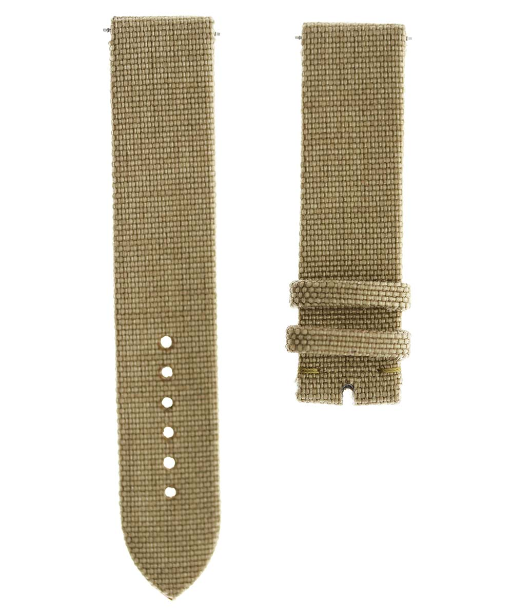 Light Green Cordura strap 20mm General style. Vegan