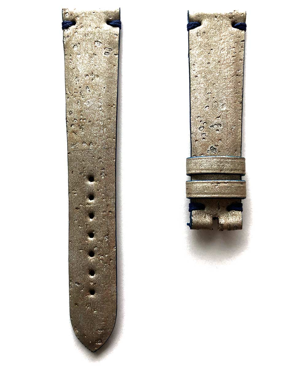 Silver Natural Portuguese Cork strap 20mm General style