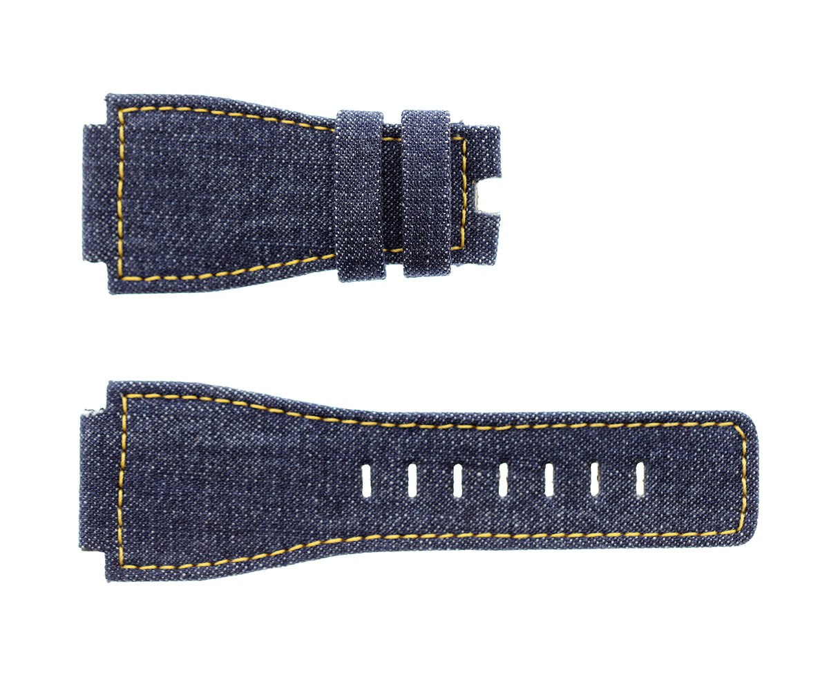 Bell & Ross BR01-BR03 style Japanese Denim strap 35mm
