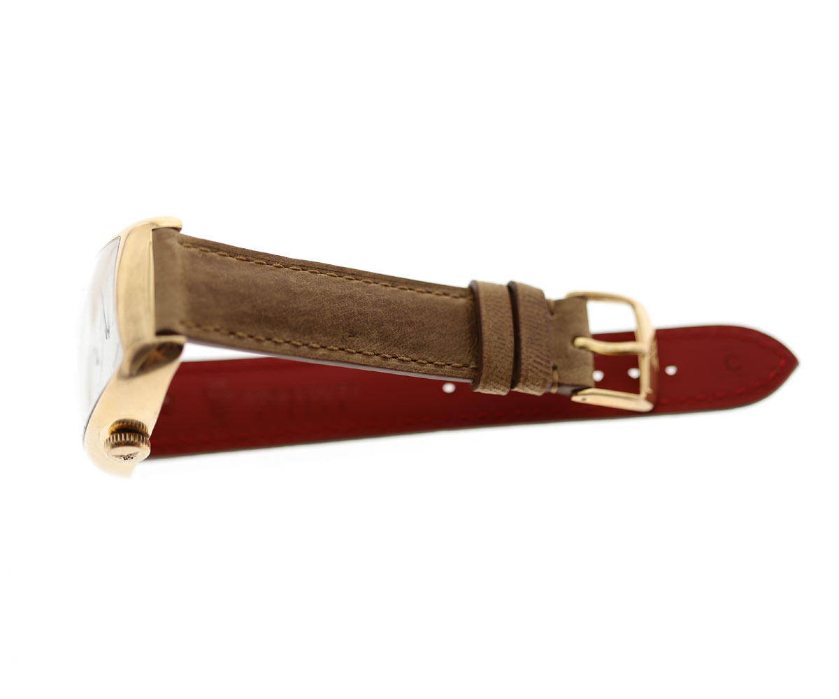 Custom made Honey Kangaroo leather strap