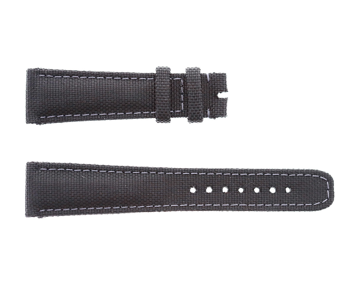 Black Cordura strap 20mm Rolex Submariner style. Vegan