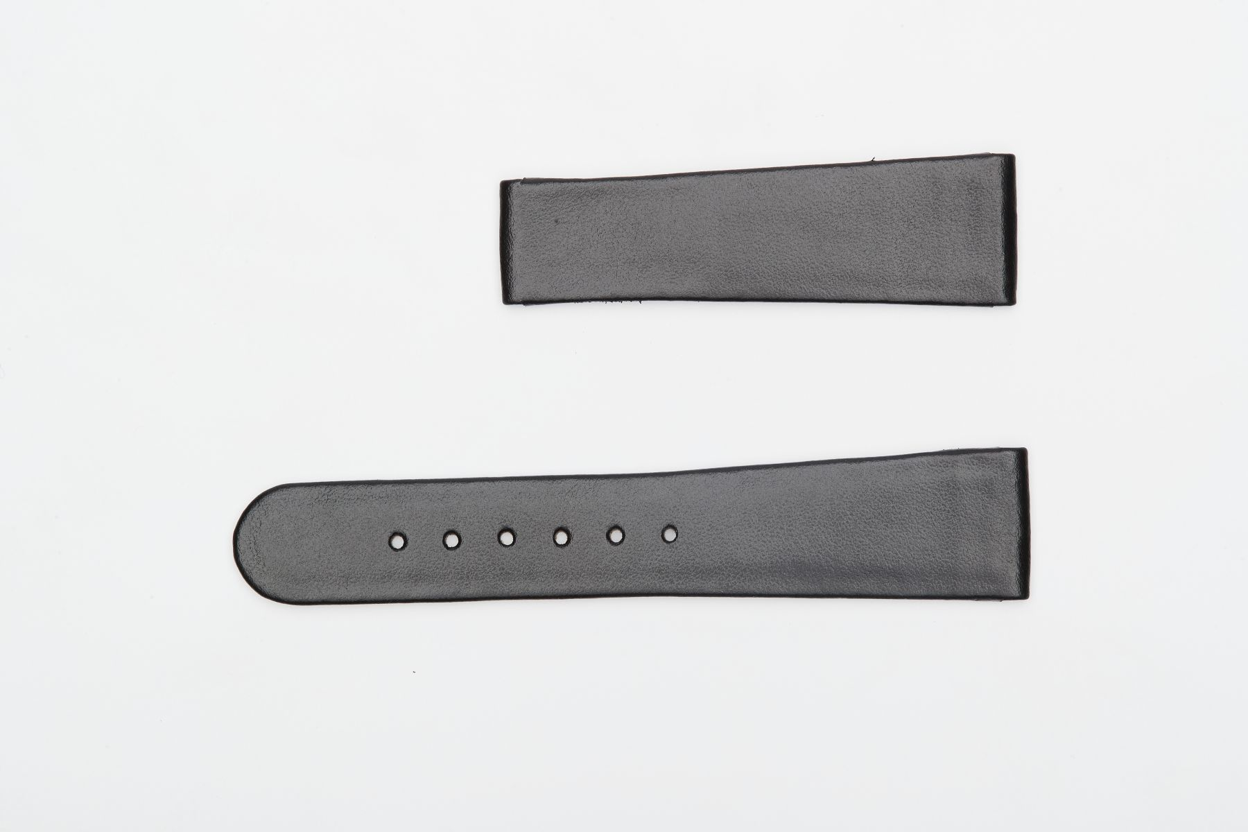 Black Napa Leather strap 22mm for Oris Calibre style