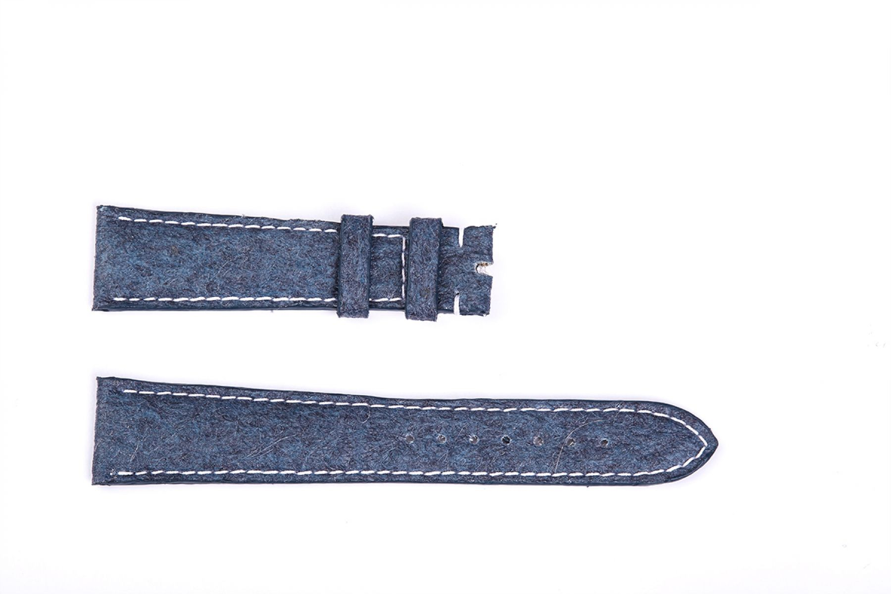 Blue Indigo Pinatex Strap 16mm, 18mm, 19mm, 20mm, 21mm, 22mm General style