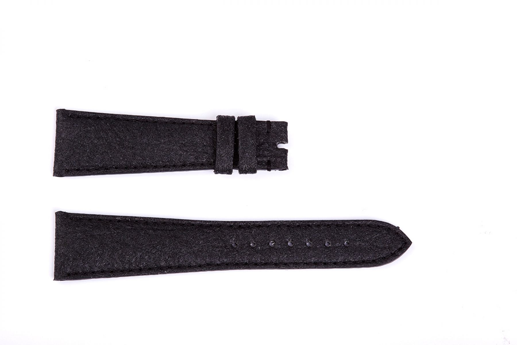 Charcoal Black Pinatex Strap 16mm, 18mm, 19mm, 20mm, 21mm, 22mm General style