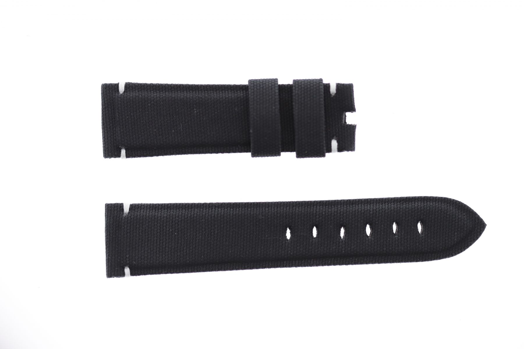 Navy Blue Canvas strap 20mm for Panerai. Vegan style