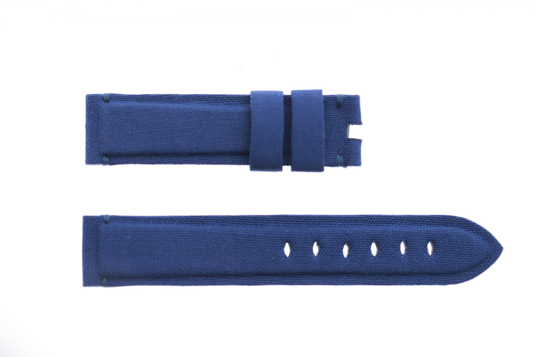 Sky Blue Canvas strap 20mm for Panerai. Vegan style