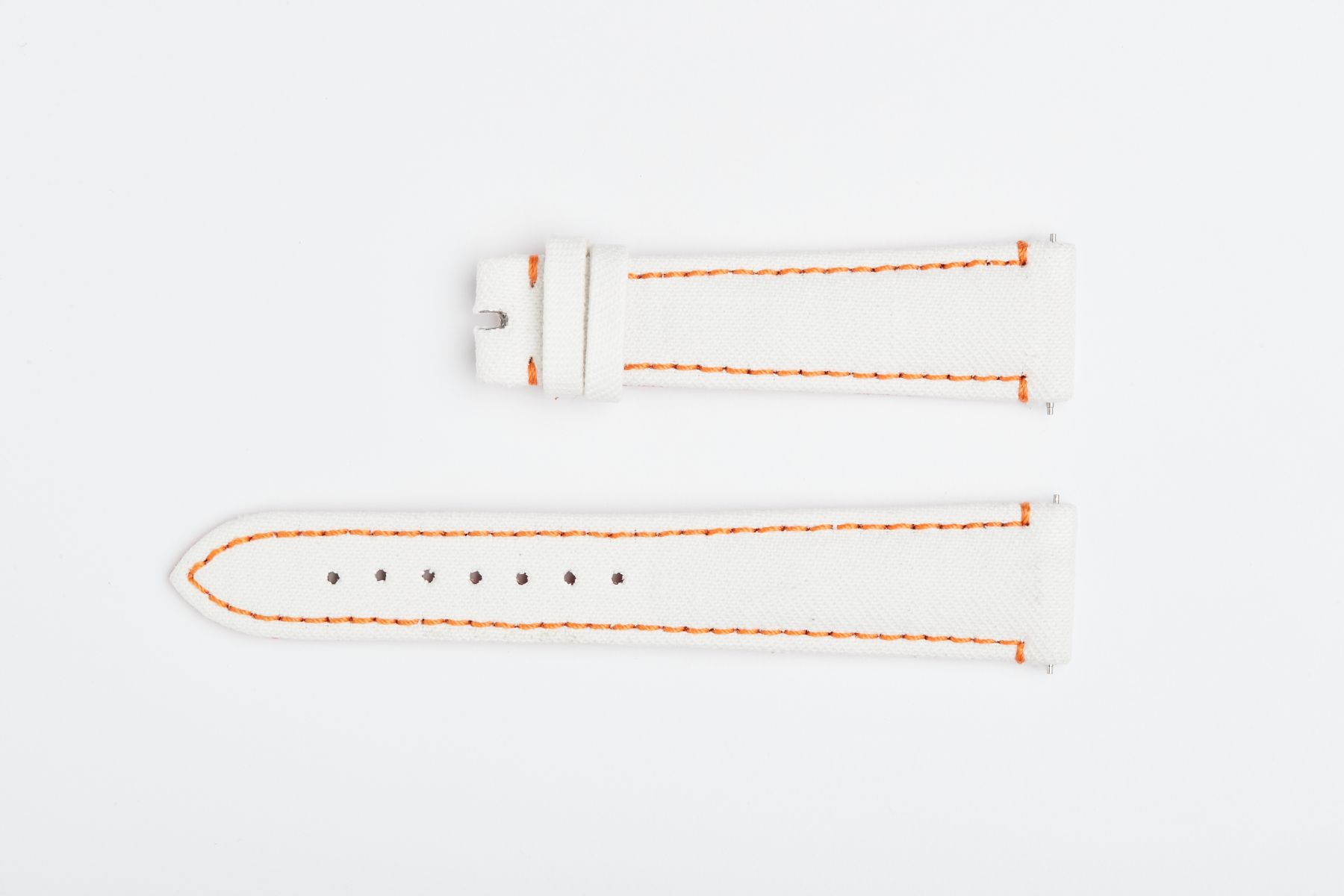 Sapporo White Japanese Denim strap 20mm / Rolex Daydate Dayjust style with Quick release