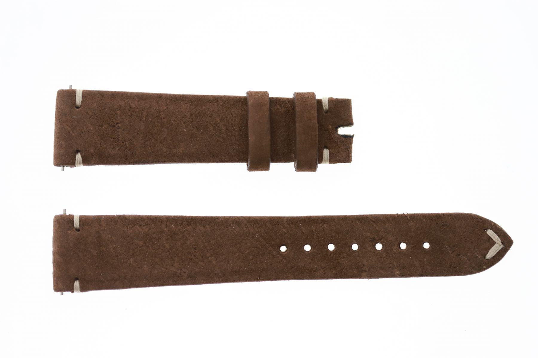 Brown Kudu Antelope leather strap 19mm Rolex Paul Newman Daytona style
