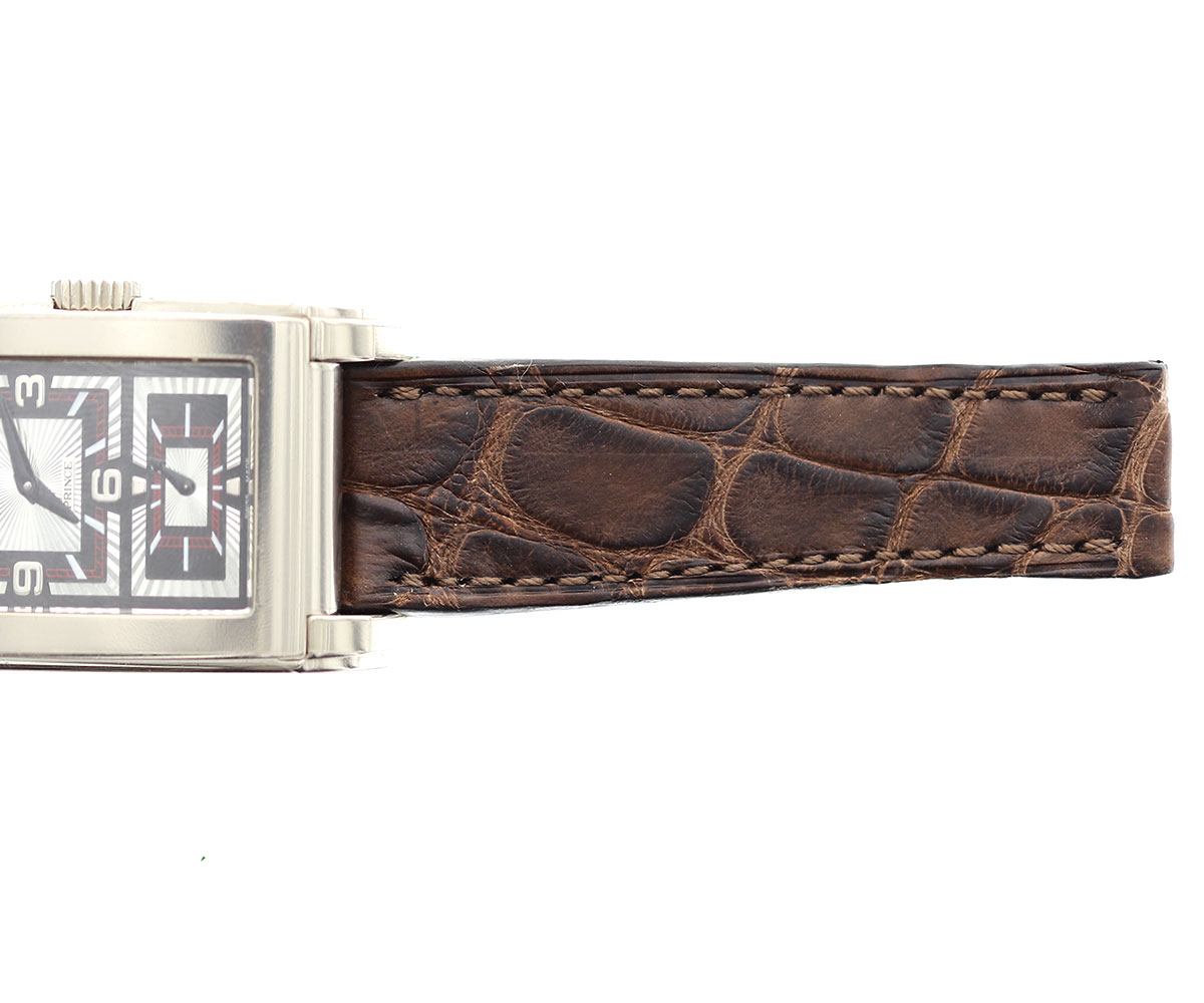 Rolex Cellini Prince style strap 20mm in Chestnut Brown Alligator