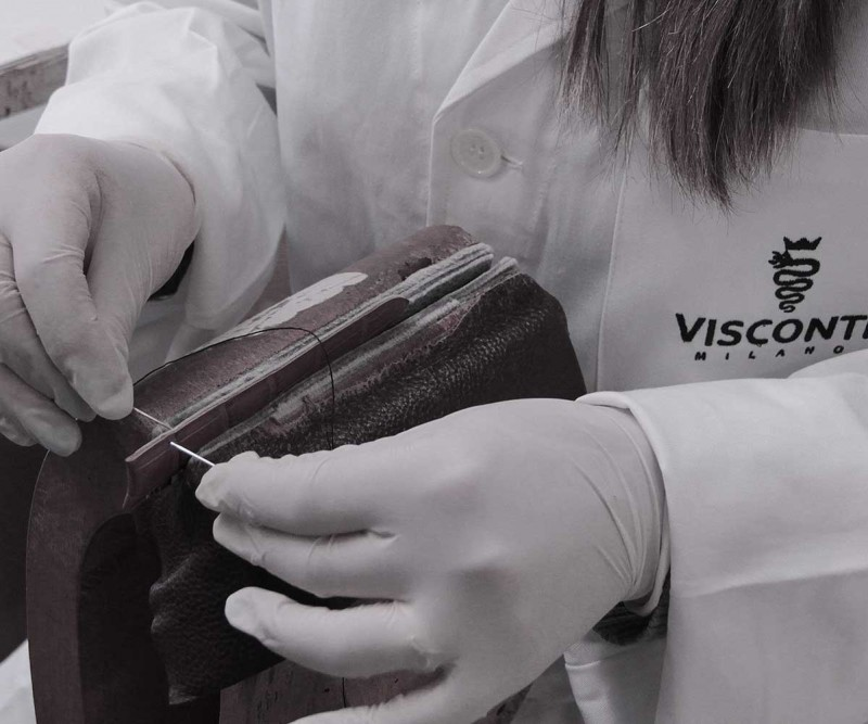 inside Visconti Milano Factory