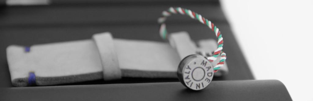art to create the watch strap visconti milano