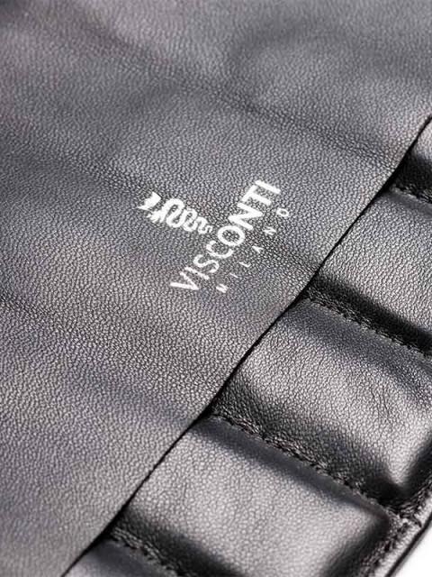 Strap Holder Visconti Milano in soft Napa leather handmade in Italy