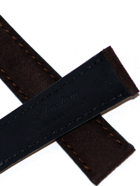 Rolex Daytona watch strap Alcantara Visconti Milano made Italy