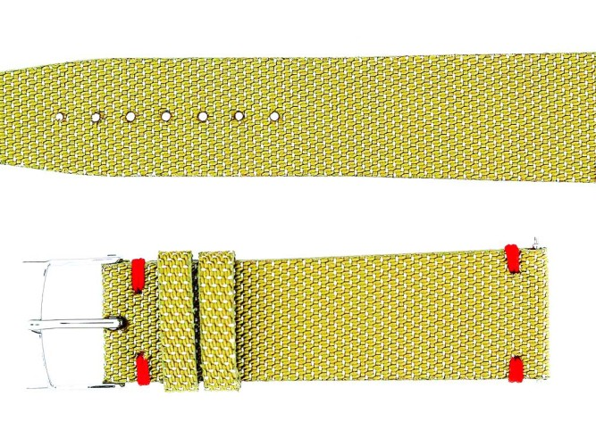 Cordura original resistant fabric Visconti Milano watch straps handmade in Italy