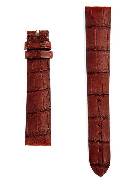 Visconti Milano Made to Measure Bespoke watch straps in Rubberized Matte Alligator Replacement for Rolex, Panera, Patek timepieces styles