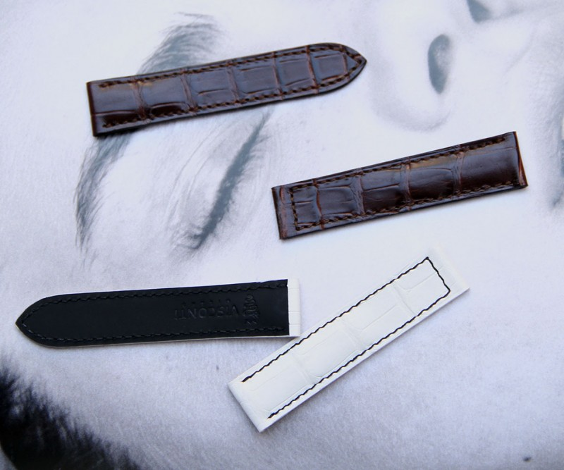 Cartier style watch strap by Visconti Milano