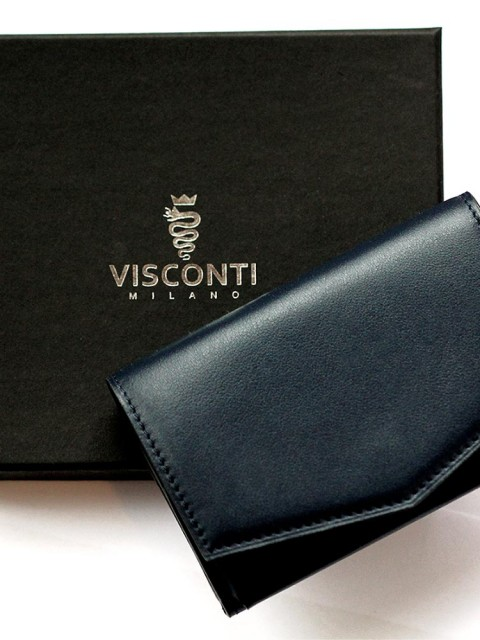 Visconti Milano Maroquinerie SMART Wallet in Calf leather