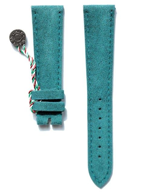 Indigo Italian Original Alcantara watch strap for Patek Philippe style timepieces