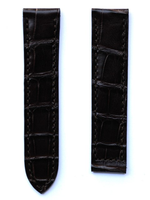Cartier Must bespoke alligator leather watch strap handmade in Italy