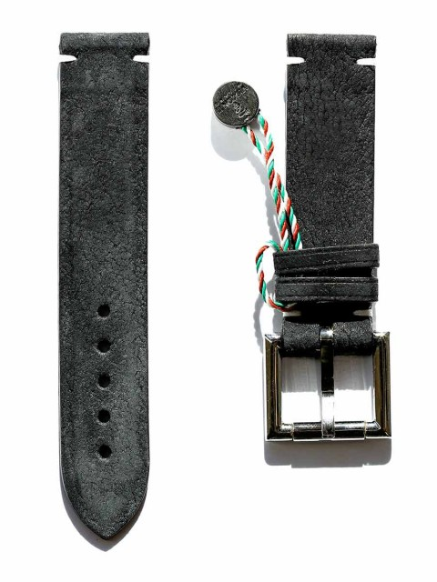 Kudu reverse leather replacement fixed buckle strap 20mm generic style