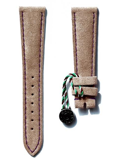 alcantara made italy replacement watch strap petek rolex vintage rose 18mm 20mm